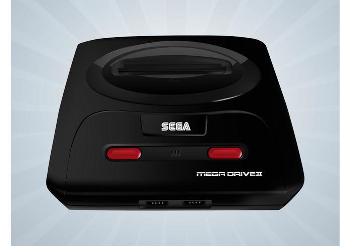 Sega Mega Drive Vector