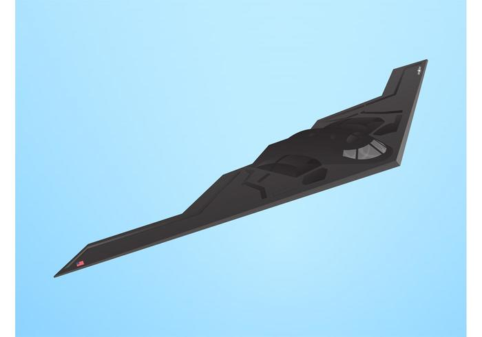 Stealth Bomber Vector