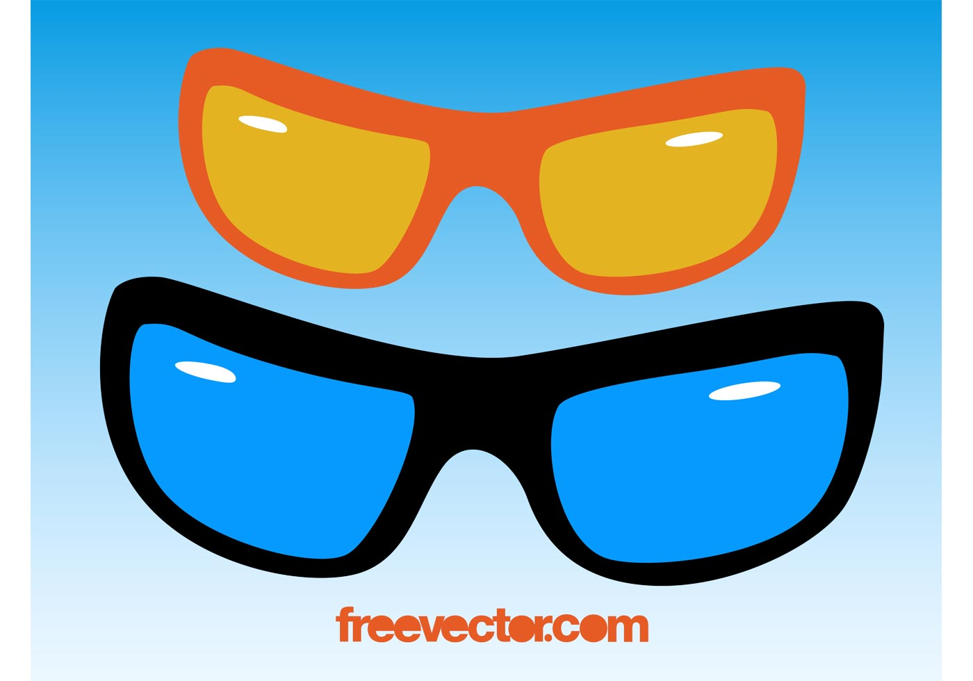 Sunglasses Vector  sunglasses free vector art 7509 free downloads