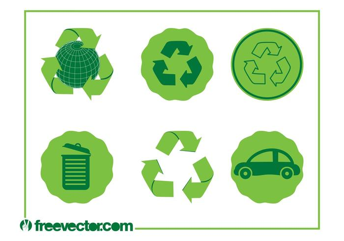 Eco Icons Vectores