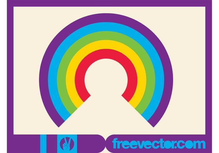 Rainbow Icon Vector