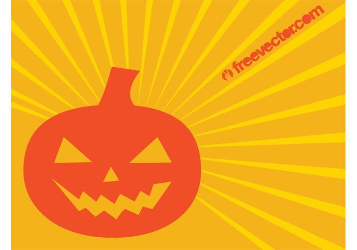 Halloween Pumpkin Vector Character