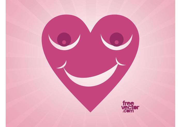 Happy Heart Vector