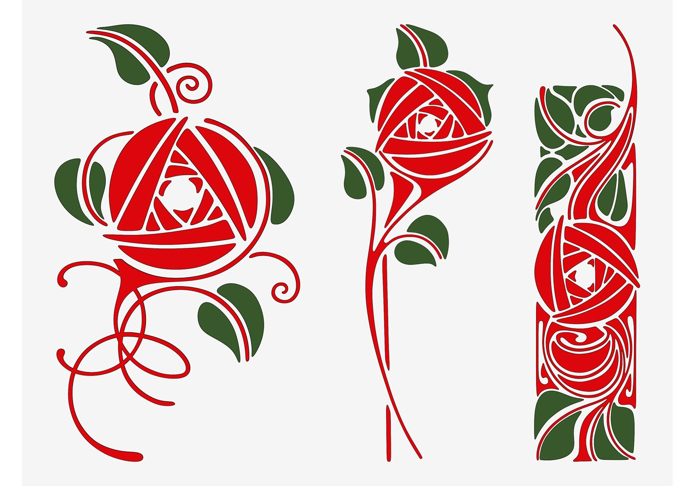 Vector Roses - Download Free Vector Art, Stock Graphics ...  Vector Roses - ...