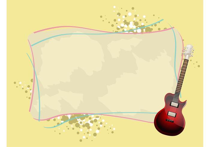 Guitar Background Vector - Download Free Vector Art, Stock Graphics ...