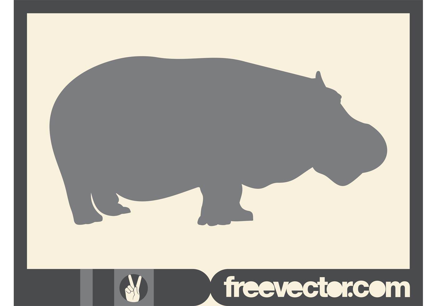 hippo vector download free vector art stock graphics