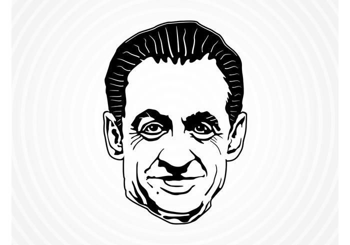 Nicolas Sarkozy Vector