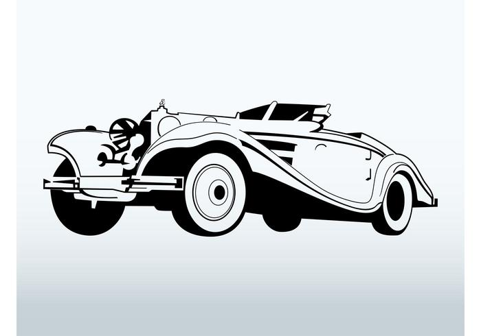 Classic Car Free Vector Art Free Downloads