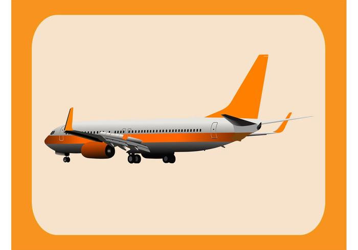 Airplane Vector Graphics