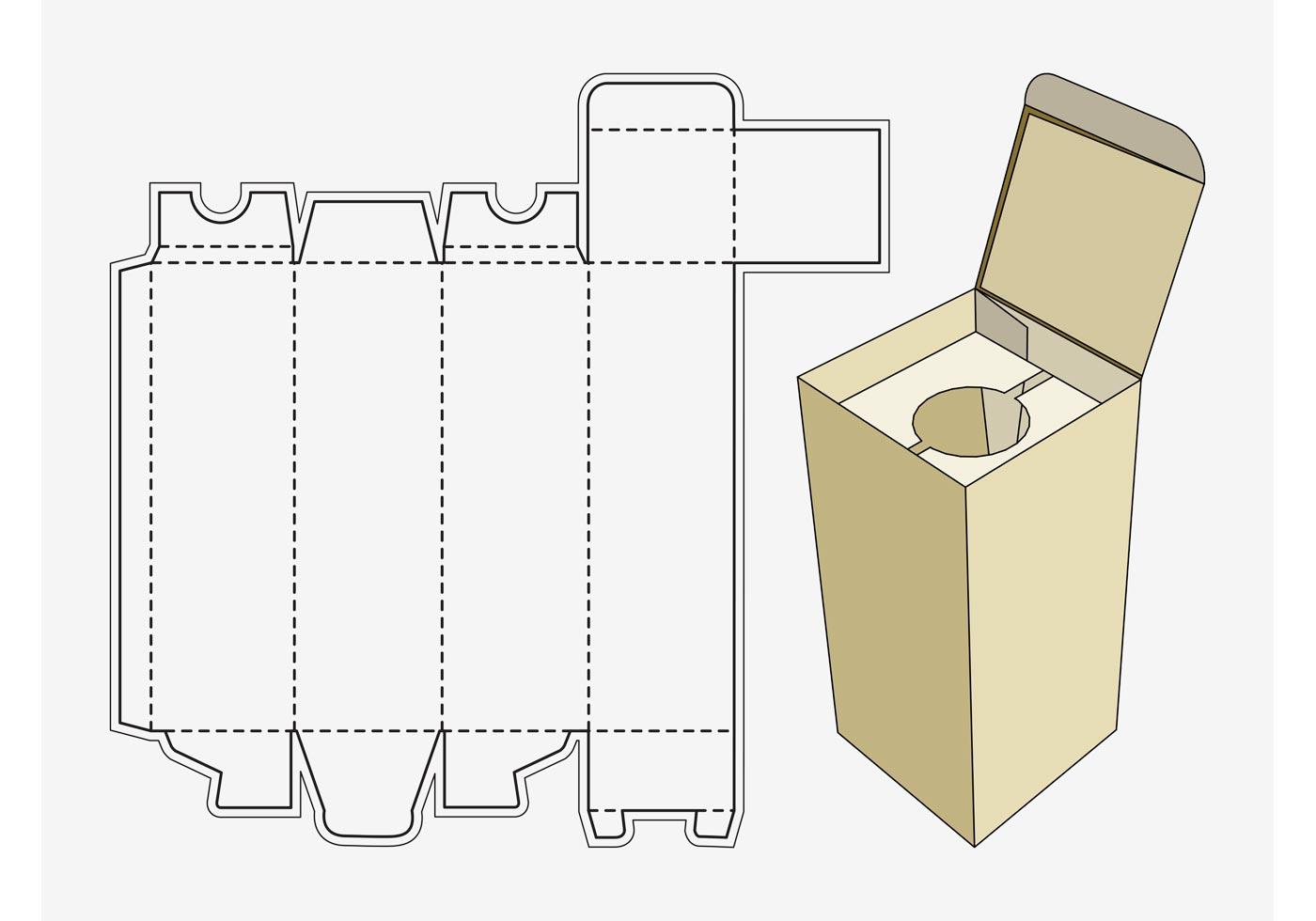 Plantilla de la caja del vino - Descargue Gráficos y Vectores Gratis