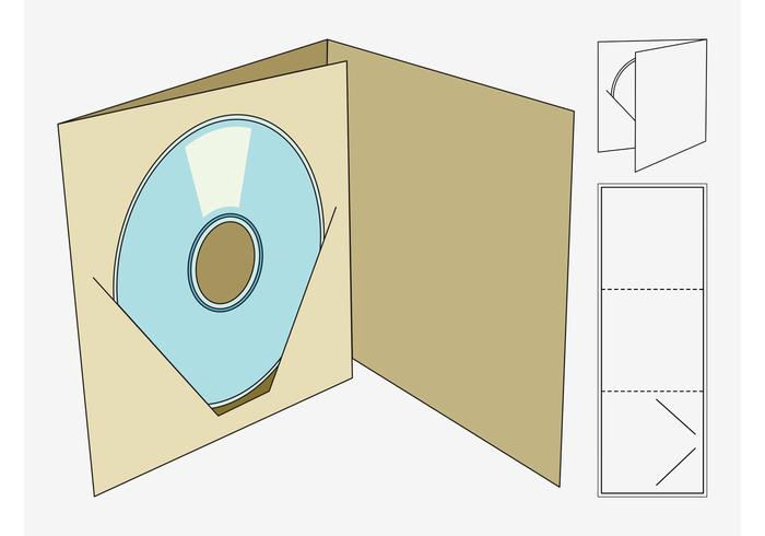 Cd Box Template - Download Free Vector Art, Stock Graphics & Images