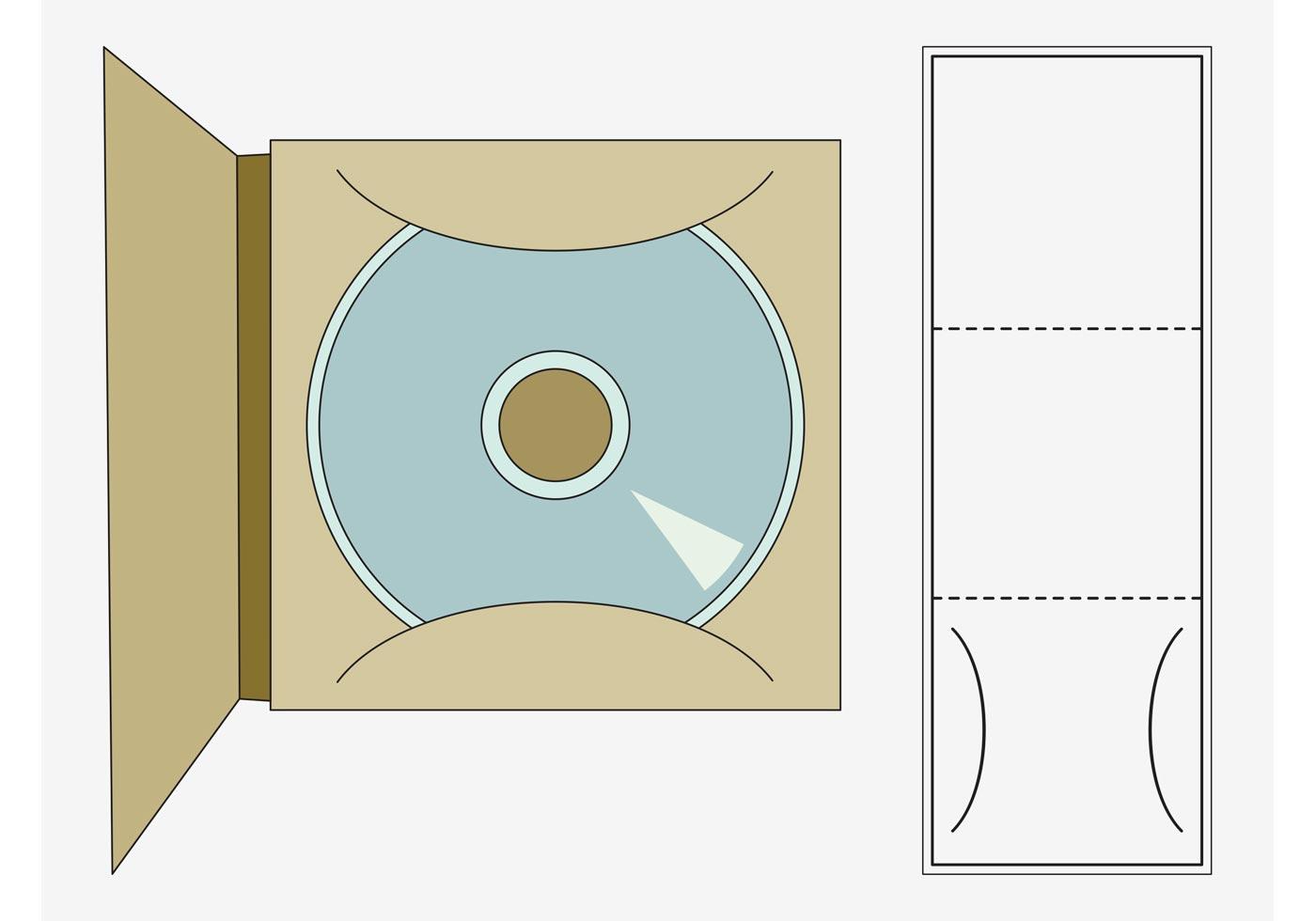 Plantilla de CD - Descargue Gráficos y Vectores Gratis