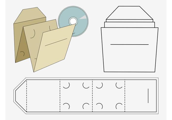 CD Case Paper Craft