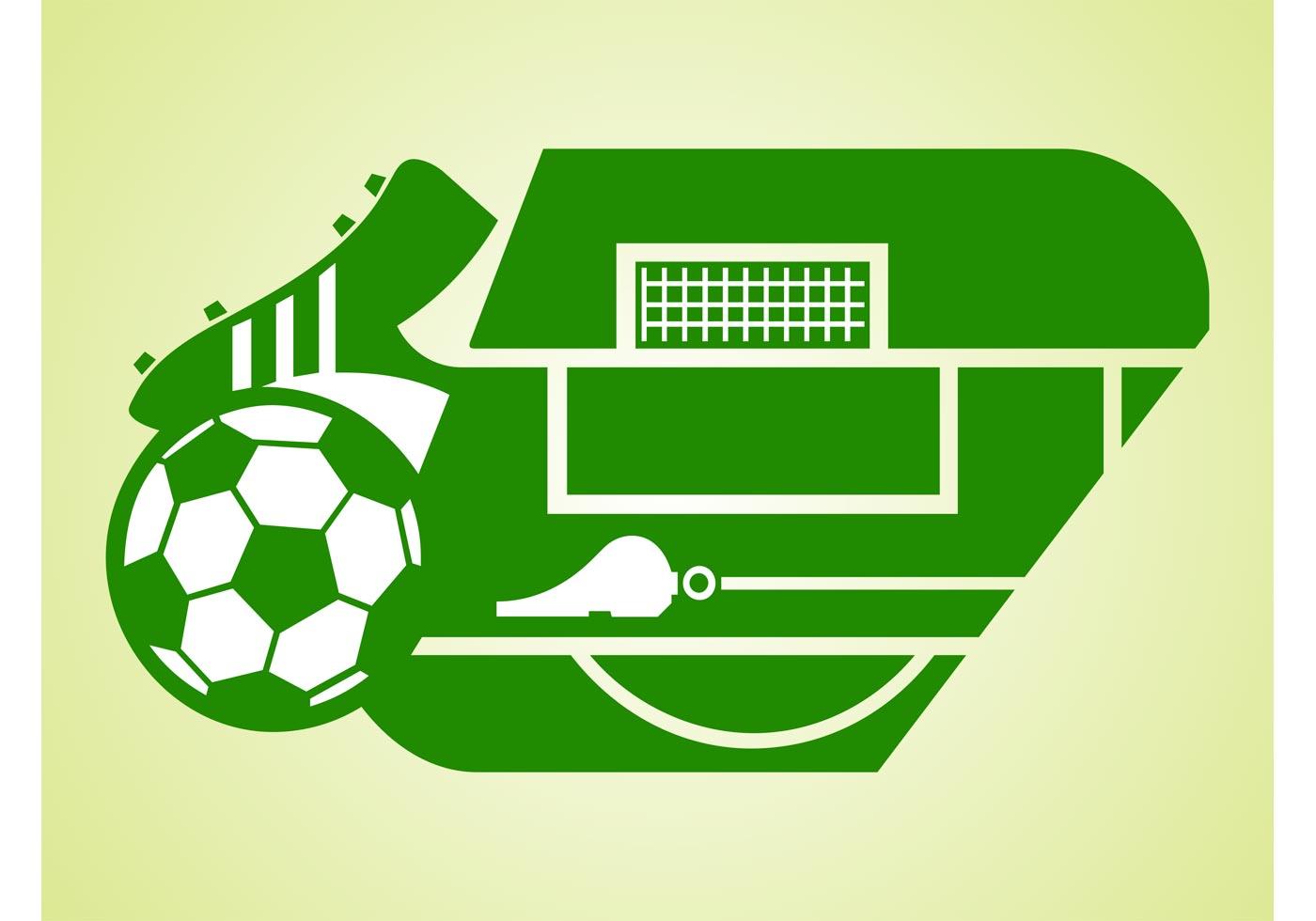 Vector Soccer Field Download Free Vector Art Stock