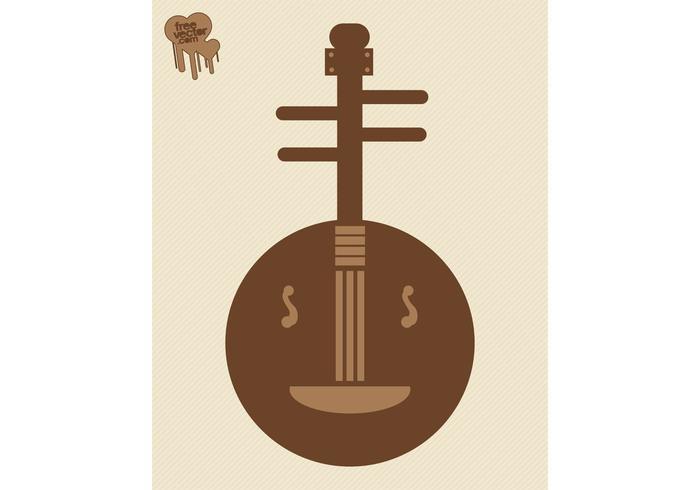 Banjo Vector