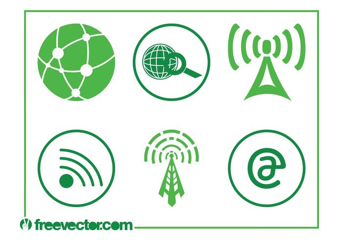 Technology And Internet Icons