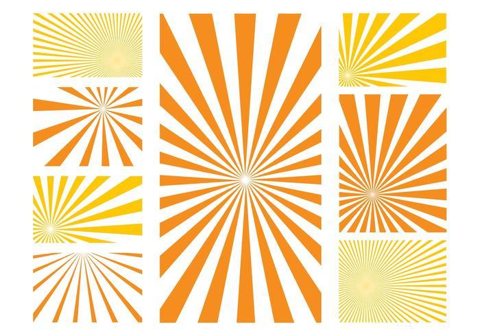Sunburst Patterns Graphics