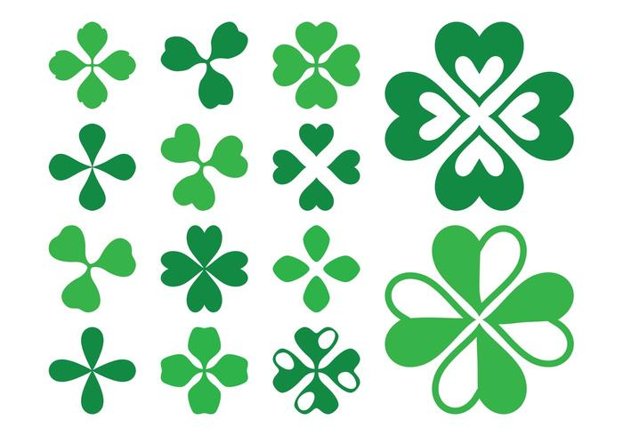 Clover Leaves Graphics