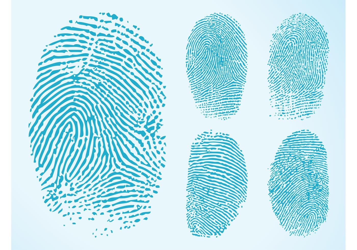 Fingerprint Free Vector Art