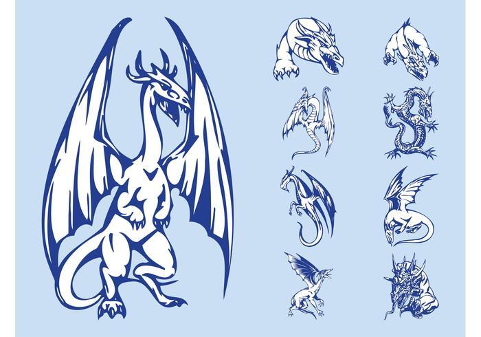 Dragons Graphics Set