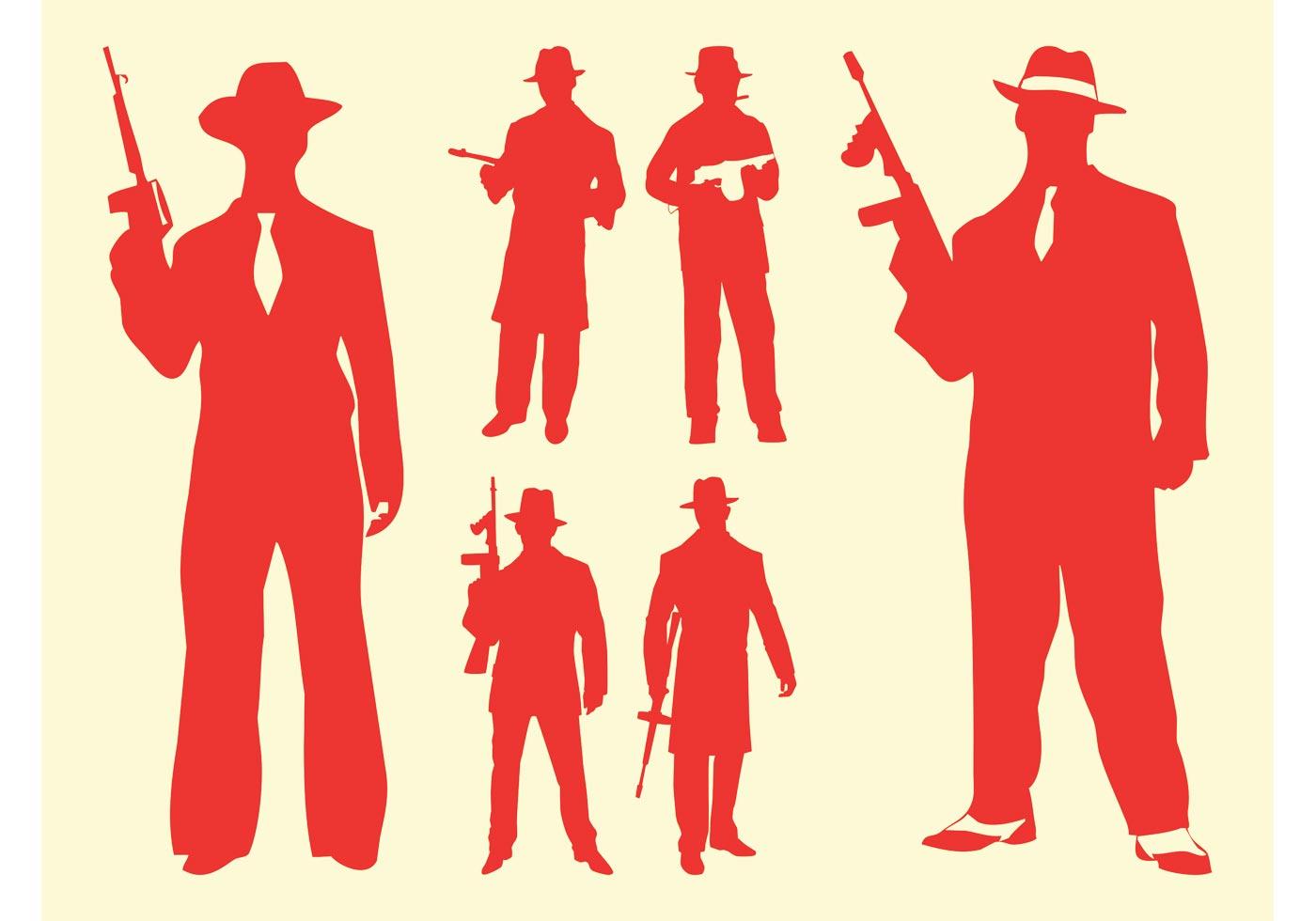 Открытка, картинки в стиле гангстеров нарисованные