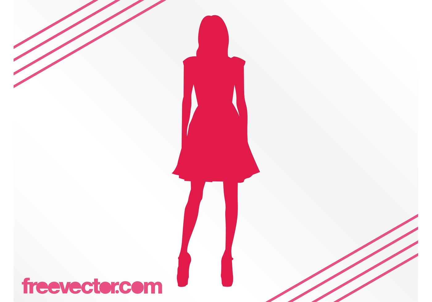 Fashion Girl Silhouette Download Free Vector Art Stock Graphics