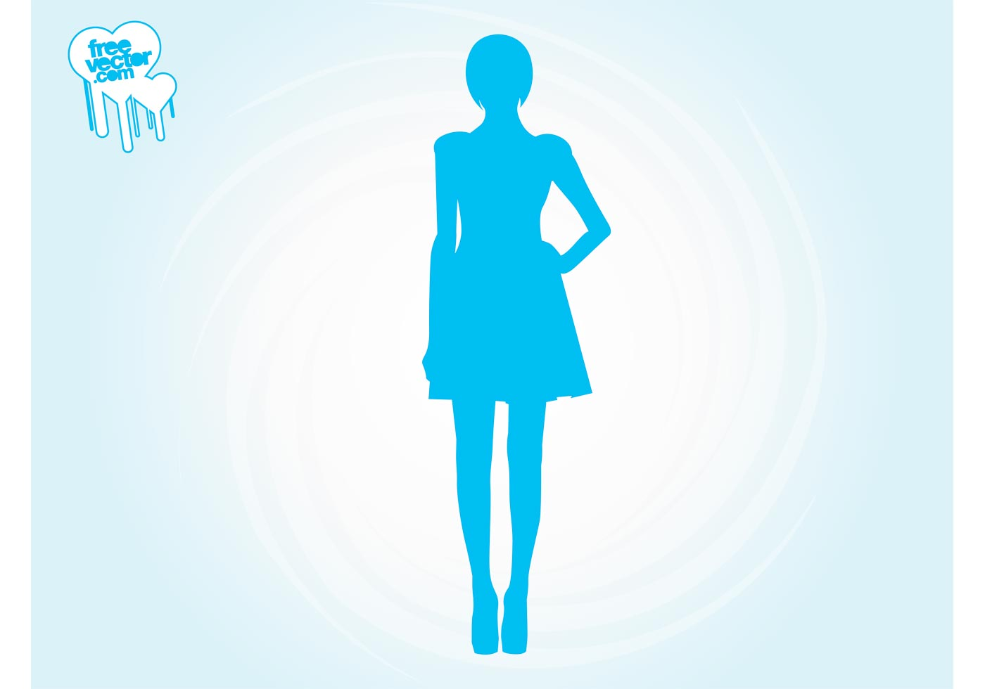 Runway Girl Silhouette Download Free Vector Art Stock