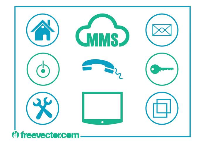 Technology And Communication Icons
