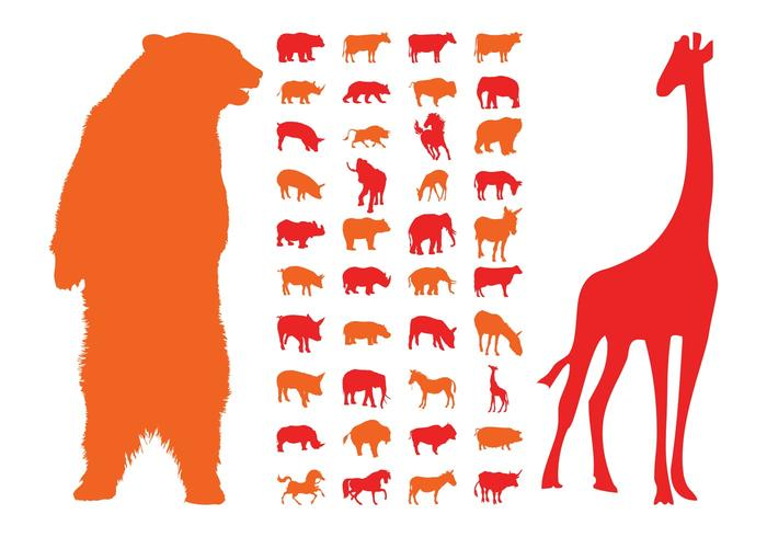 Animal Silhouettes Graphics