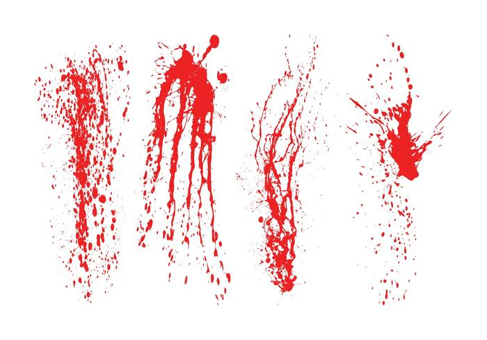 Splattered Blood Graphics