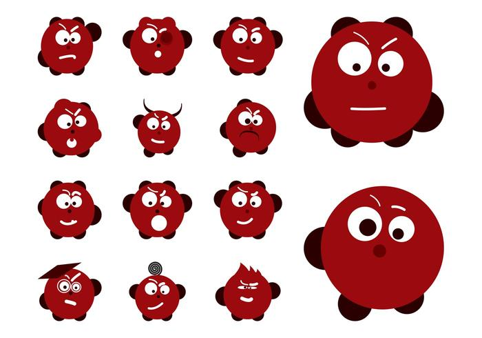 Emoticon Set Graphics