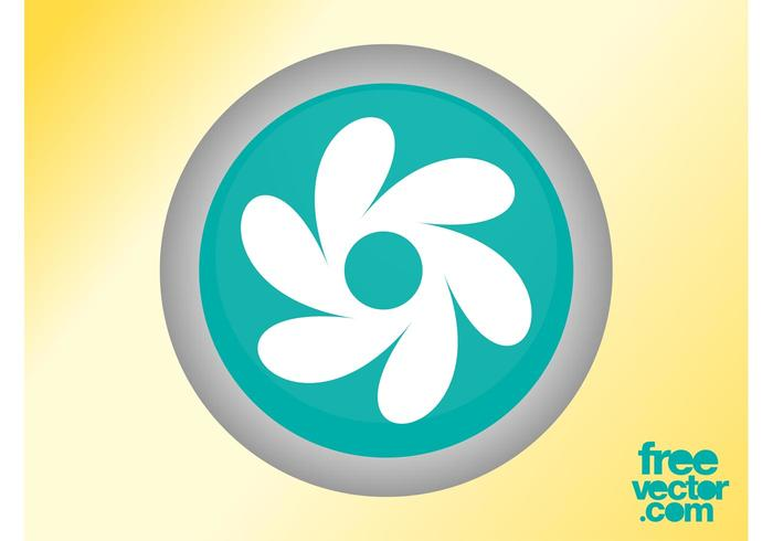 Floral Button