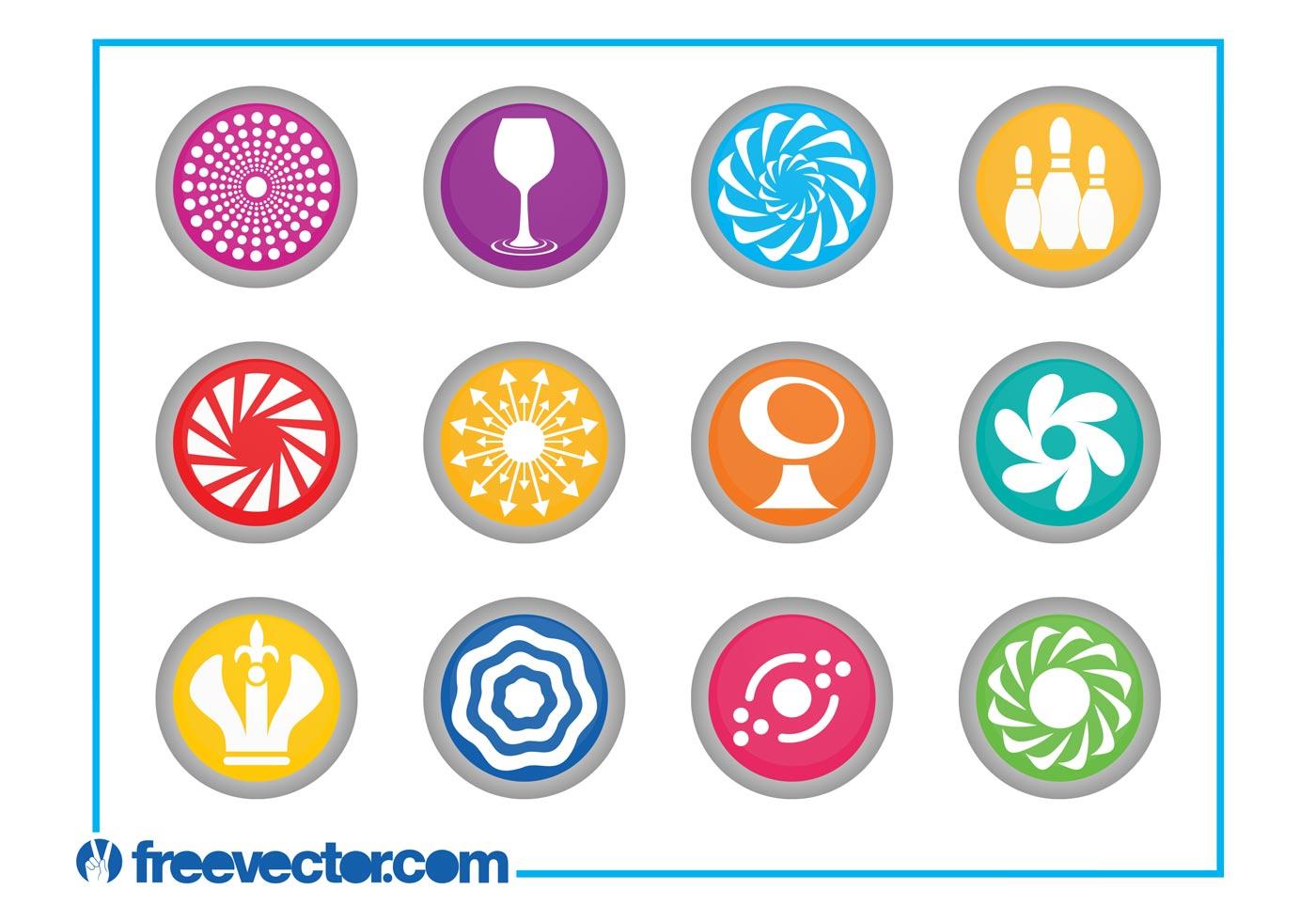 Создаем в фотошопе круглый логотип с декоративным 7