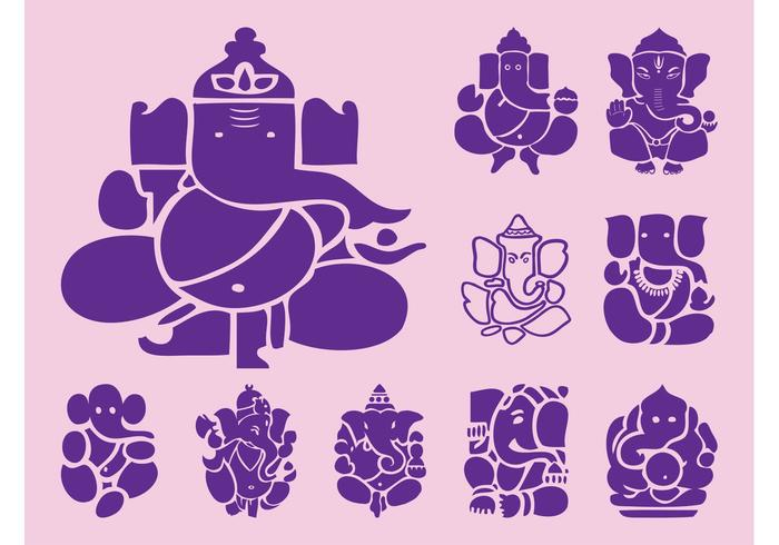 Ganesha Icons Graphics