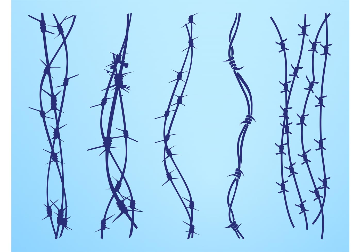 Barbed Wire Border Free Vector Art - (4294 Free Downloads)