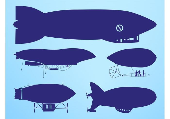 Zeppelin Silhouettes