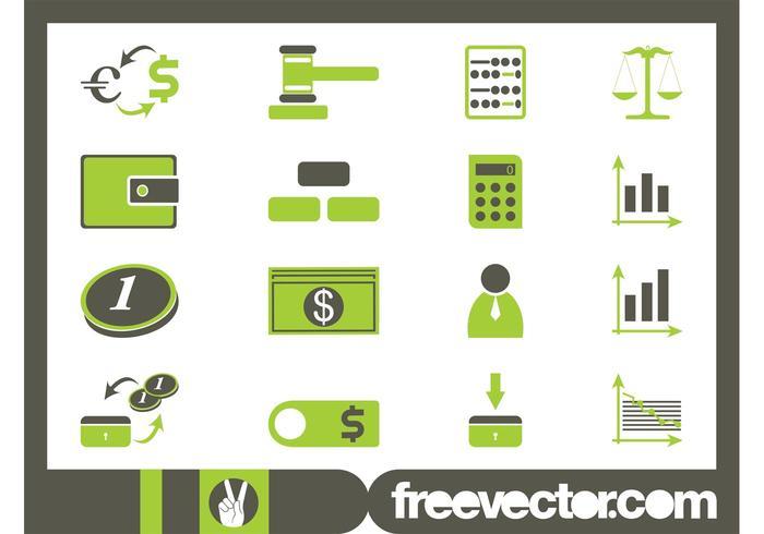 Financiële Icon Set
