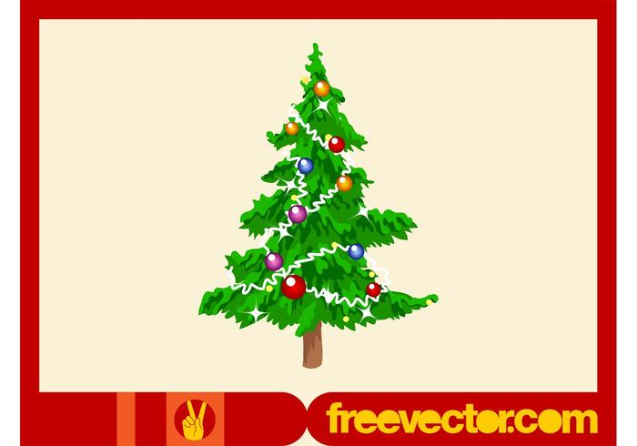 Christmas Tree Footage