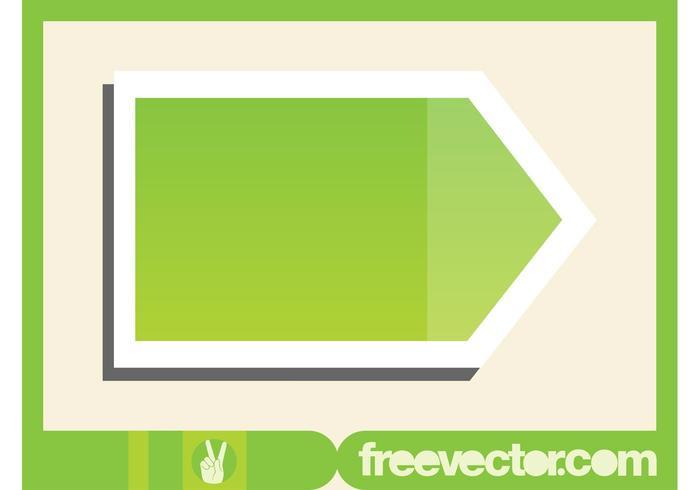Green Pointer Sticker