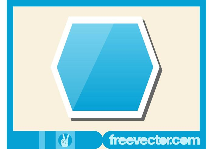 Hexagon Sticker
