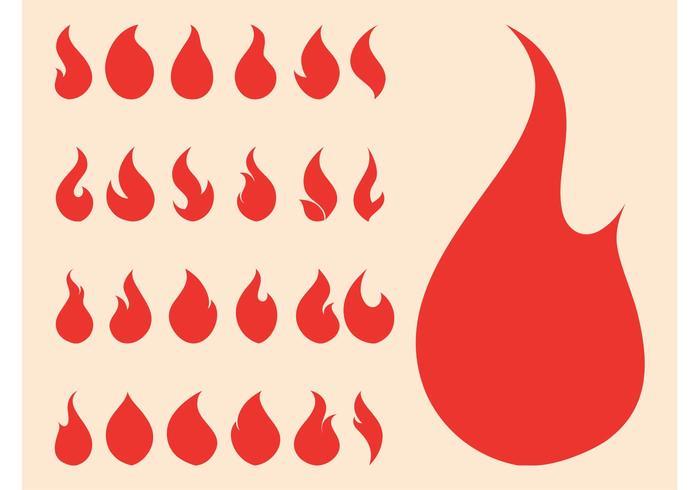 Fire Symbols Graphics