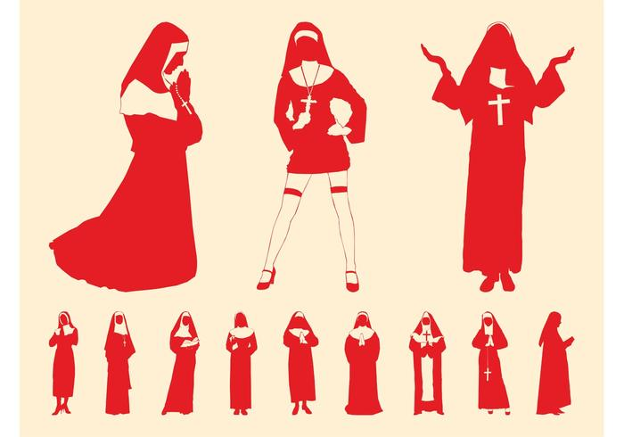Nuns Graphics