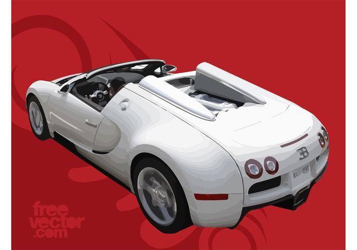 Branco bugatti veyron