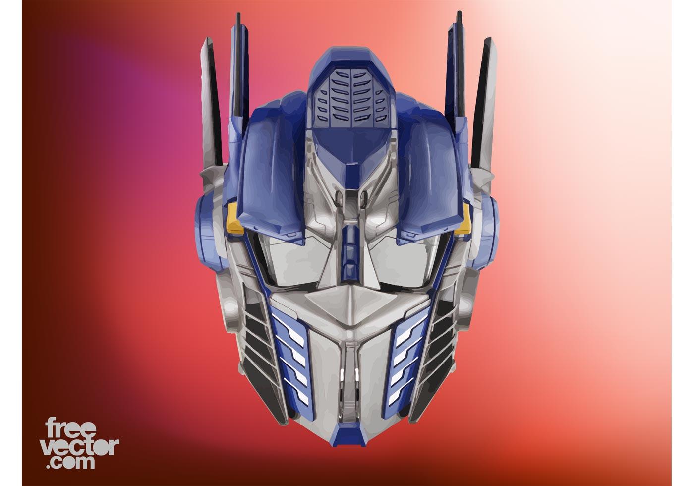 Optimus prime vector download free vector art stock - Optimus prime dessin ...
