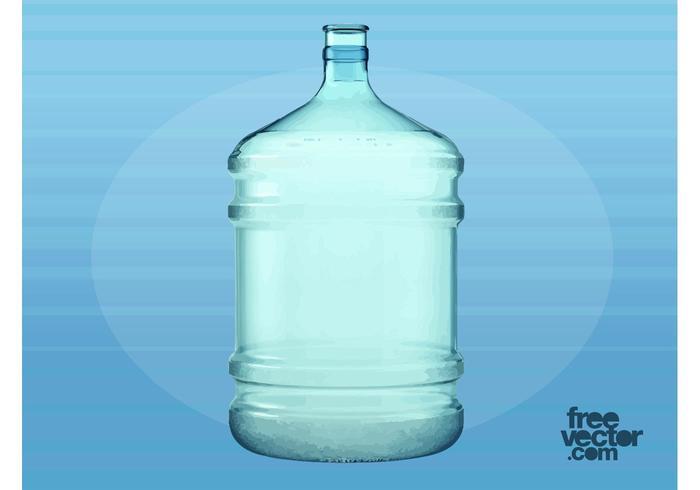Big Plastic Water Bottle