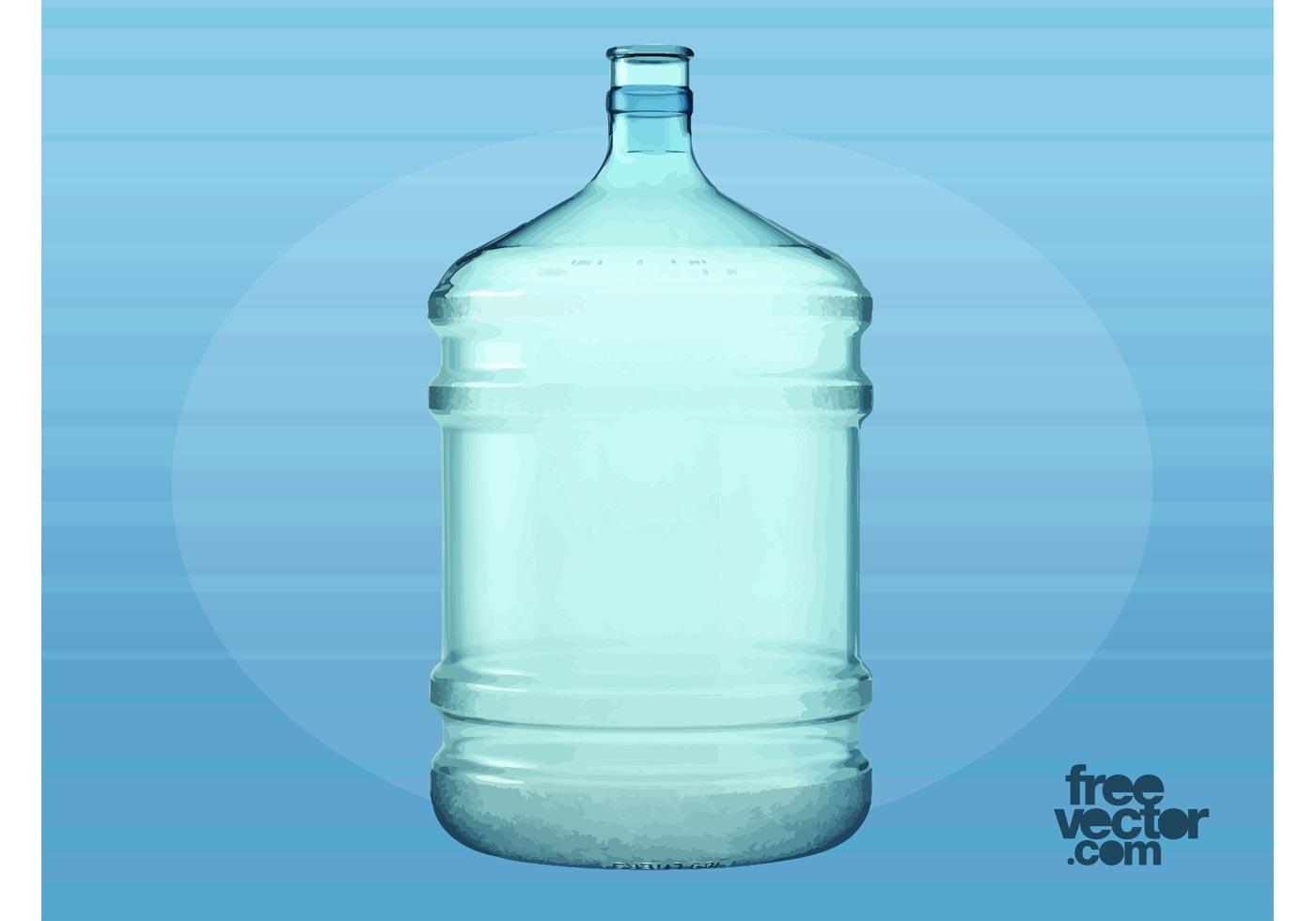 Big plastic water bottle download free vector art stock for Plastic water bottle art