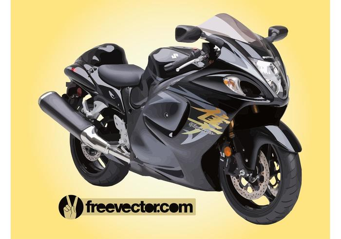 free motorcycle background check  Suzuki Hayabusa Motorcycle - Download Free Vector Art, Stock ...