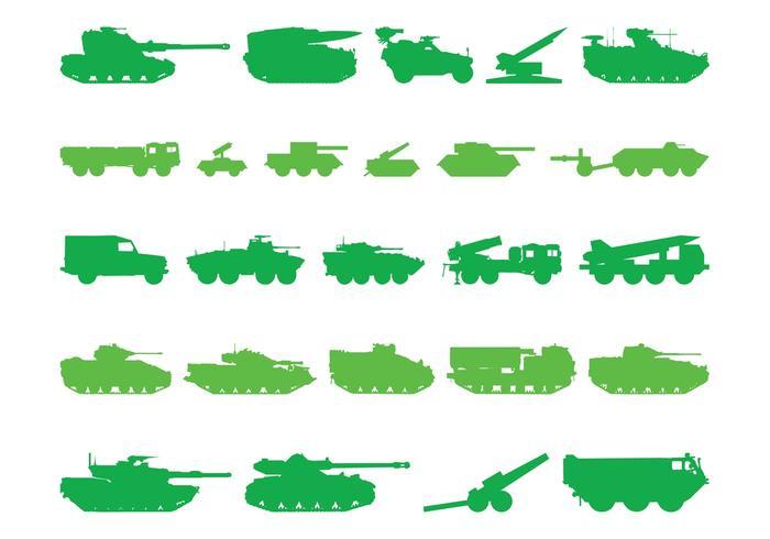 Tank Silhouettes