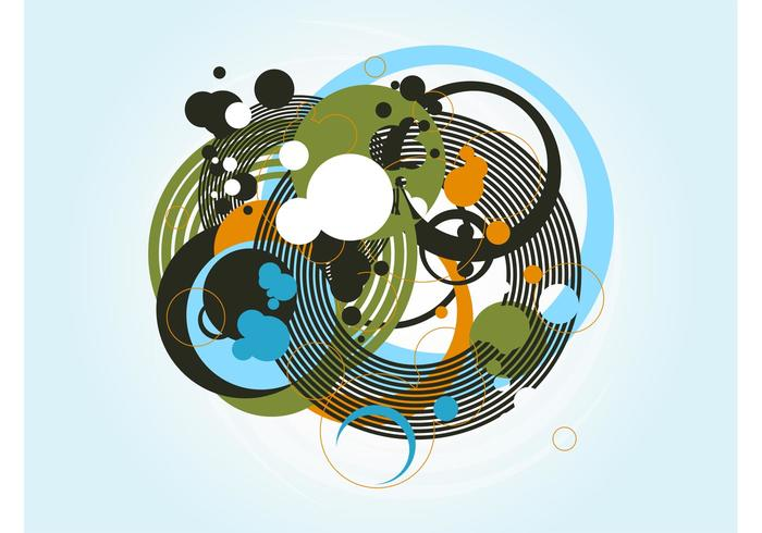 Abstract Circles Image