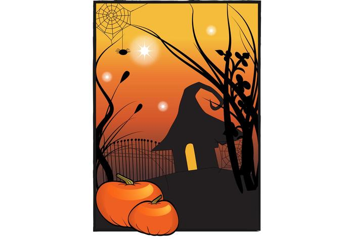 Halloween House Poster